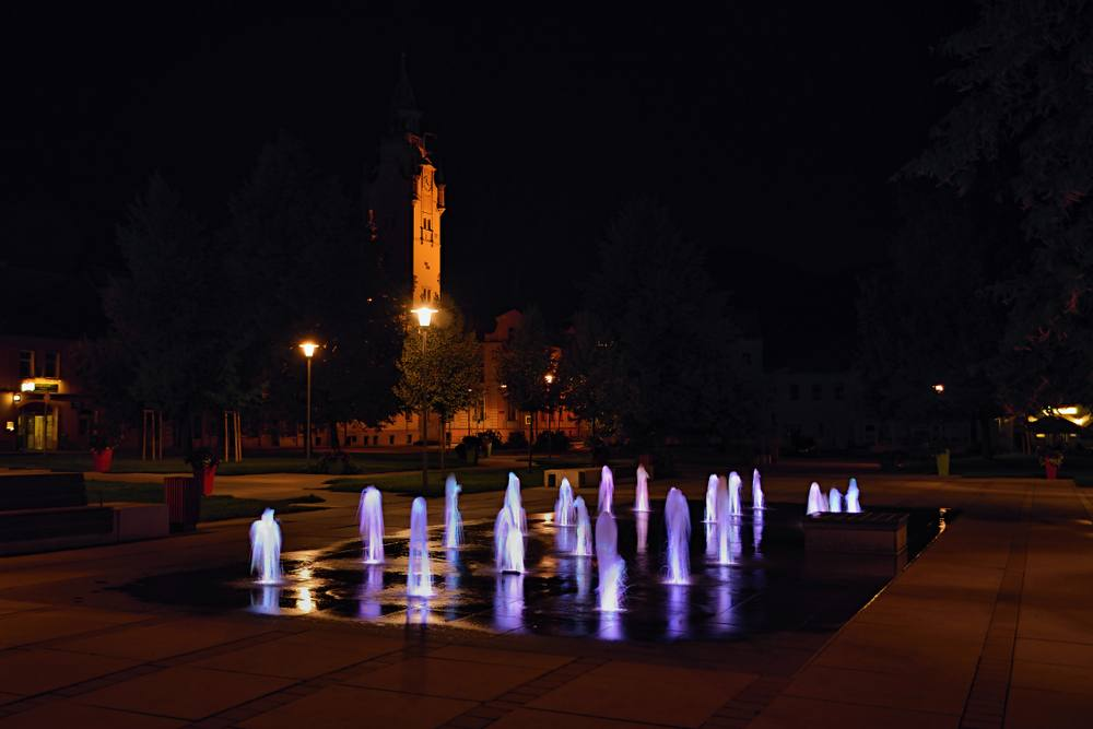 Vodní fontána v Lovosicích